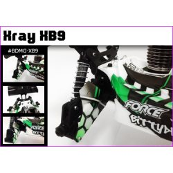 Bittydesign Mudguards for Xray XB9