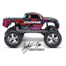 Traxxas Stampede 2WD 1/10 RTR TQ Courtney Force / Pink