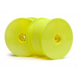 HB Racing HB RACING 1/10 REAR WHEEL (YELLOW/2PCS)