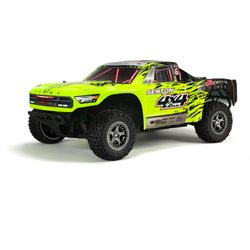 ARRMA RC SENTON 4x4 3S BLX Brushless 1/10 SCT RTR, Green/Black ARA102668