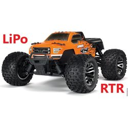 ARRMA RC Granite 4x4 BLX 1/10 Monster Truck RTR Lipo Package