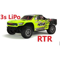 ARRMA RC 1/10 SENTON 4x4 3S BLX Brushless SCT RTR 3s LiPo package