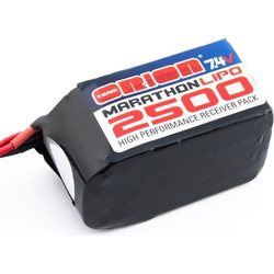 Team Orion Marathon 2500 LiPo 7,4V Hump