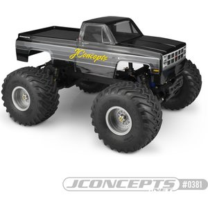 JConcepts 1982 GMC K2500 TRAXXAS STAMPEDE, TAMIYA CLOD BUSTER BODY