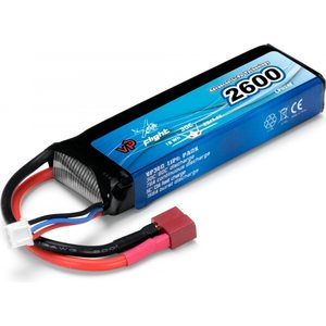 Vapex Li-Po Battery 2S 7,4V 2600mAh 30C T-Connector