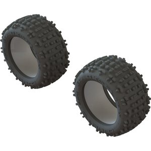 ARRMA RC DBOOTS 'BACKFLIP LP' TIRE & INSERTS (2PCS) AR520049 (ARAC9435)