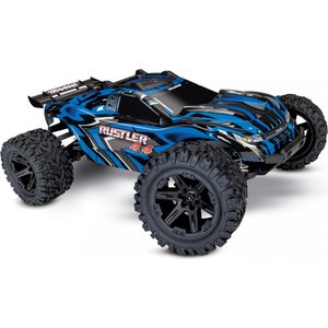 Traxxas Rustler 4X4 XL-5 1/10 Stadium Truck with Batt/Charger