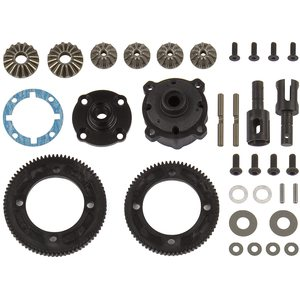 Team Associated 92144 RC10B74 DIFFERENTIAL SET, CENTER