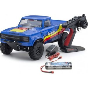Kyosho OUTLAW RAMPAGE 1:10 EP 2WD TRUCK (KT231P) T2 BLUE READYSET