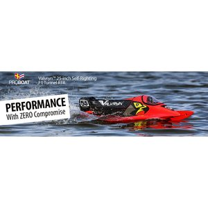 "Proboat Valvryn 25"" F1 Tunnel Hull Self-Righting RTR"