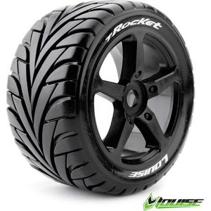 Louise Tires & Wheels T-ROCKET 1/8 Truggy Soft (2) LT3250SB
