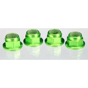 Traxxas 1747G Lock Nut Flanged M4 Alureen (4)