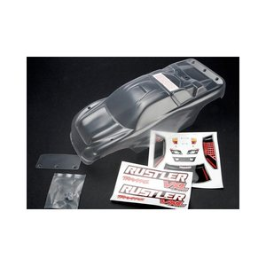 Traxxas 3714 Body Rustler Clear
