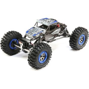 ECX 1/18 4WD Temper Gen 2, Brushed RTR: Blue/Yellow