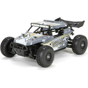 ECX 1/18 Roost 4WD Desert Buggy: Grey/Yellow RTR INT