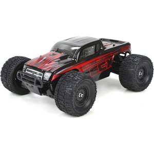 ECX Ruckus 1/18th 4WD Monster Truck Black/Red RTR INT