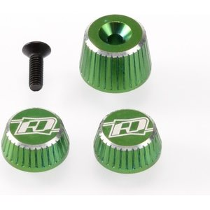 Revolution Design M17 Dial and Nut Set (green) RDRP0501-GRE