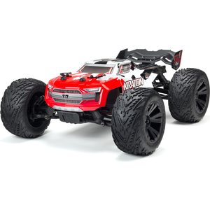 ARRMA RC Kraton 4x4 BLX Painted Decaled Trimmed Body Red (ARA402215)