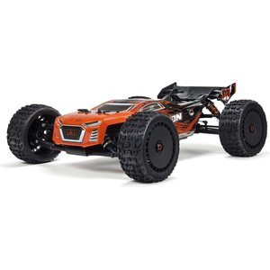 ARRMA RC TALION 6S BLX PAINTED DECALED TRIMMED BODY (RED/BLACK) AR406135 (ARAC3324)