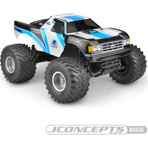 "JConcepts 0405 1989 FORD F-150 ""CALIFORNIA"" TRAXXAS STAMPEDE BODY"