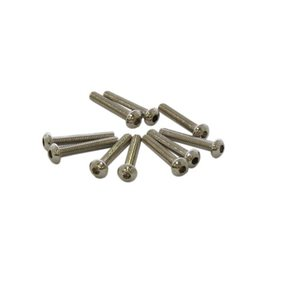 Ultimate Racing M3x20mm BUTTON HEAD SCREWS (10pcs.)