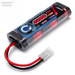 Vapex NiMh Battery 7,2V 4000mAh Tamiya connector