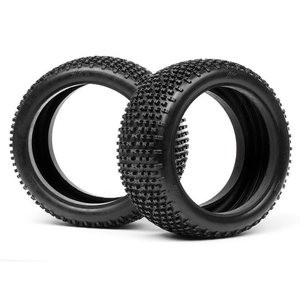 HB Racing HB RACING HB KHAOS TIRE (2PCS/WHITE/ 1/8 BUGGY)