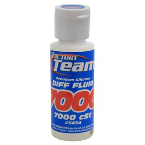 Team Associated 5454 FT Silicone Diff Fluid 7000cst, for gear diffs