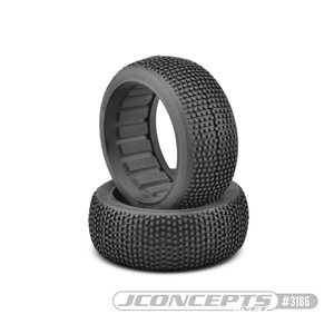 JConcepts Kosmos - black compound - (fits 1/8th buggy)