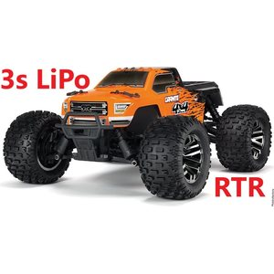 ARRMA RC Granite 4x4 BLX 1/10 Monster Truck RTR 3s Lipo Package