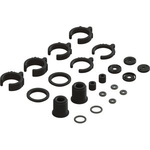 ARRMA RC COMPOSITE SHOCK PARTS AND O RING SET (2 SHOCKS) AR330451 (ARAC8940)