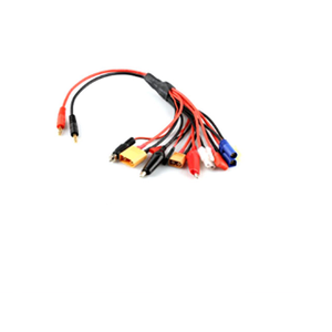 HF 12 in 1 RC Lipo Battery Multi Plug Adapter Converter Charging Cable