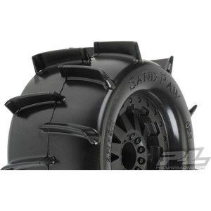 "Sand Paw 2.8"" (Traxxas® Style Bead) on F-11 wheel (2) 1186-14"