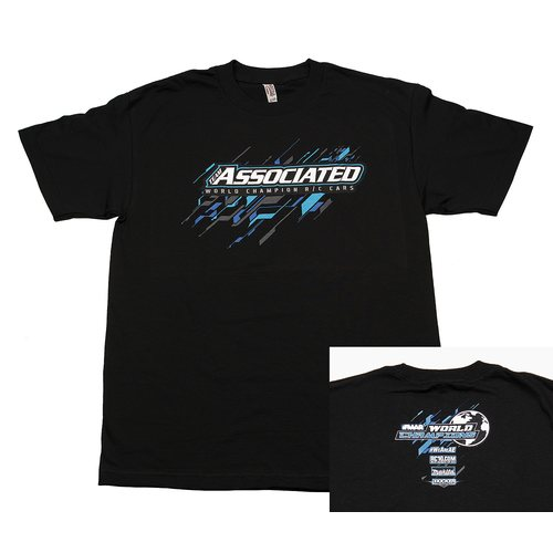 Team Associated 2017 Worlds T-Shirt, black, XL