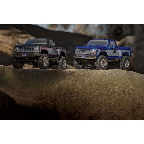 Team Associated CR12 Ford F-150 Pick-Up Ready-to-Run Blue 40002